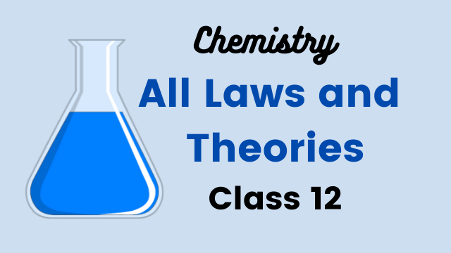 All Laws and Theories class 12