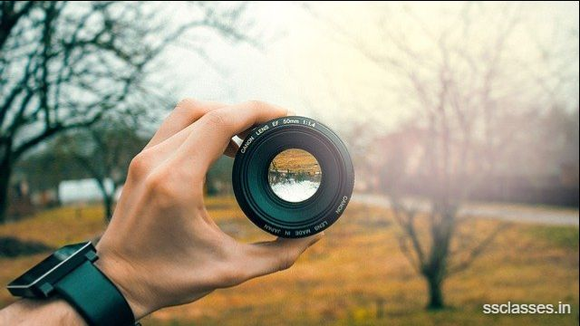 Applications of Physics in Camera Lens